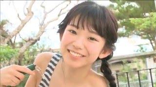 長澤茉里奈 童顔巨乳グラドルが下乳丸出しで上下運動